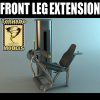 lwo leg extension machine