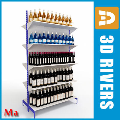 maya supermarkets shelving 01 v1