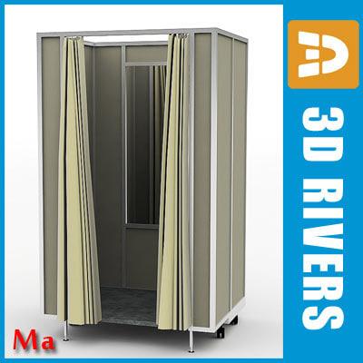 fitting room v1 3d model