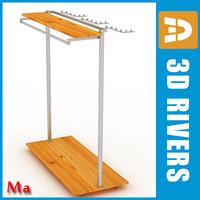 retail clothing rack v1 x