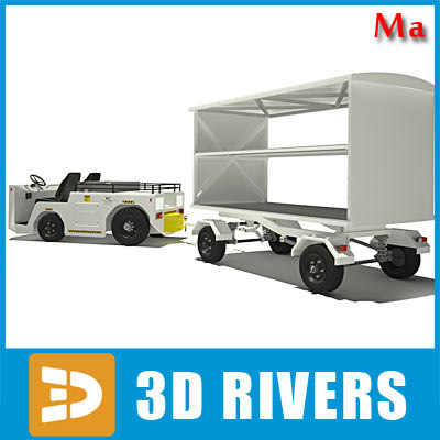 ma airport baggage tractor 01