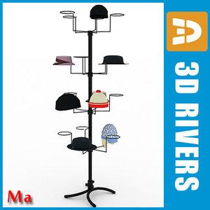 3d rack caps v1 model