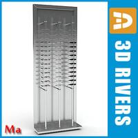 Glasses rack full v1 by 3DRivers