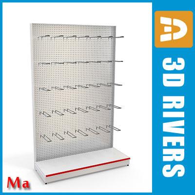 3d perforated v1 03 shelves