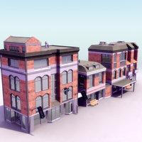3d city building model