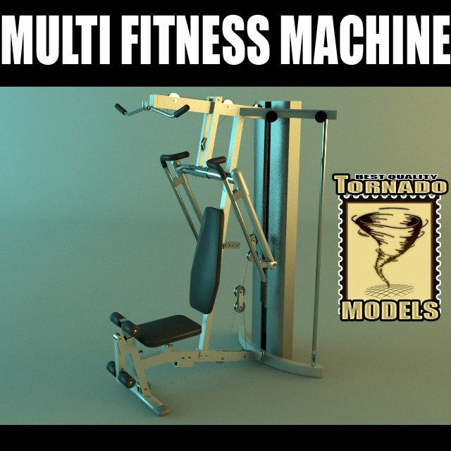 multi fitness machine scene 3ds