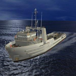 3d model of argentine navy supply olivieri