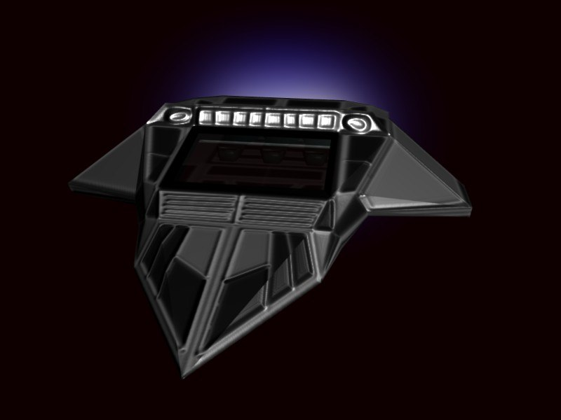 free blend model spaceship ship space