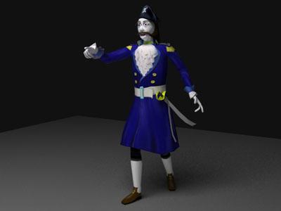 free ma mode ghost pirate rigged biped