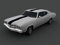 chevrolet chevelle 3d model