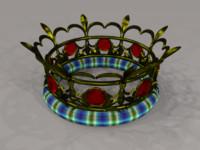Crown (OBJ format)