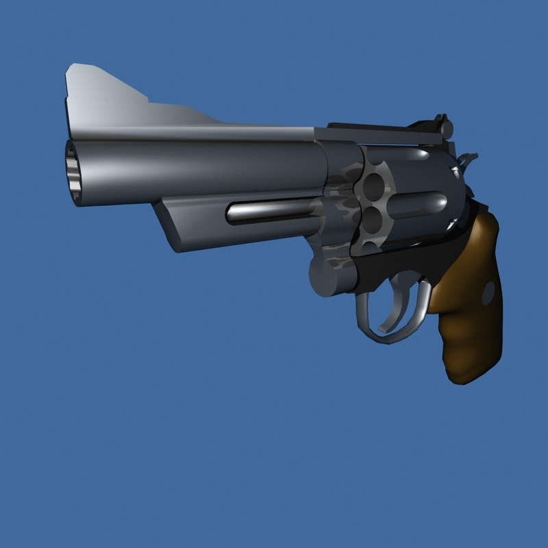 3d model smith wesson