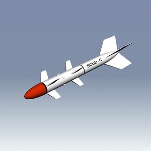 missile 3d max