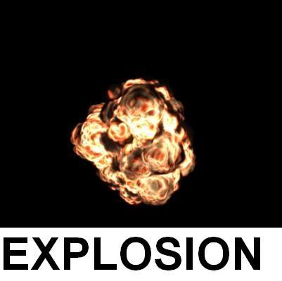 3d max realistic explosion