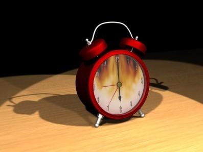 3d waker clock