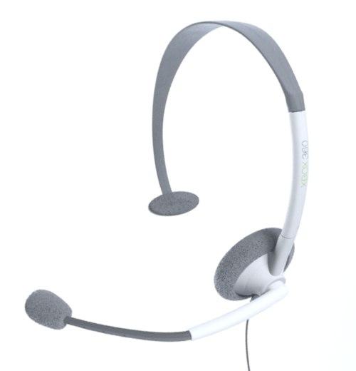 3dsmax xbox 360 live headset