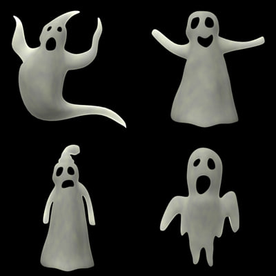 ghosts cartoon 3ds