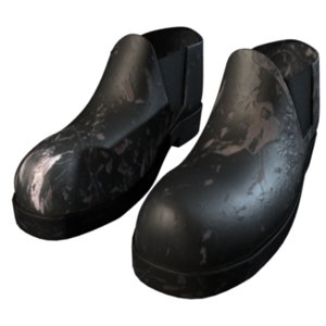 free steel work boots 3d model