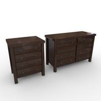 3ds dresser drawers 4 8