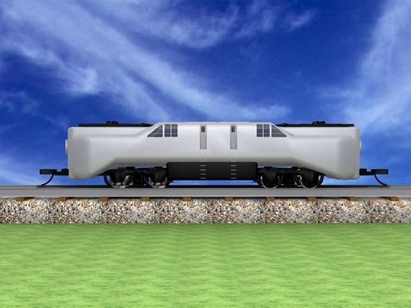 3d electric engine model