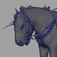 3d death dealer horse model