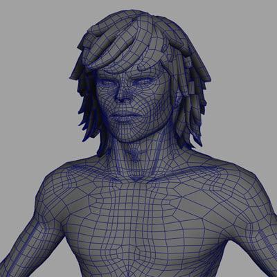 maya action character