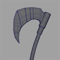 3d death axe