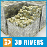 3ds max billion dollars bills