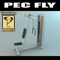 3d lwo pec fly machine