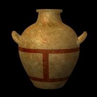 prehistoric vase 3d model