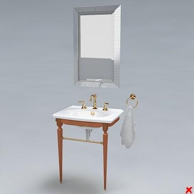 3d sink model
