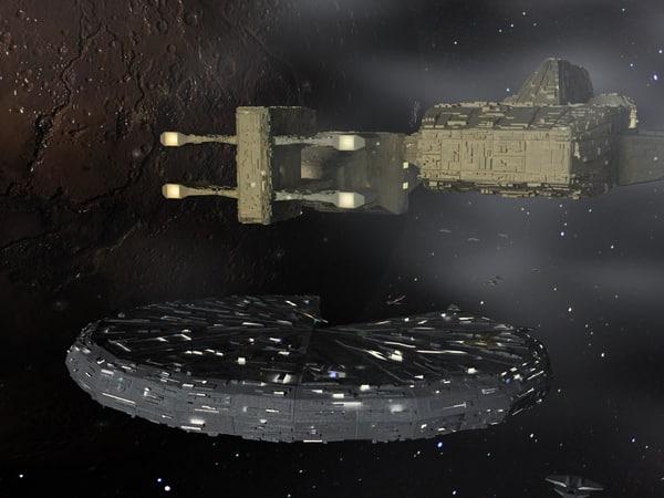 3d model space craft spacecraft