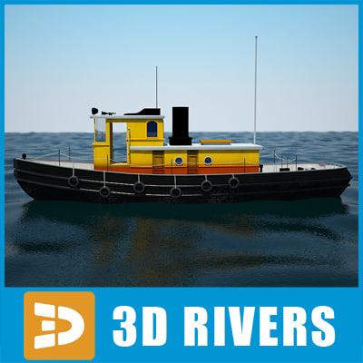 3d sea tug