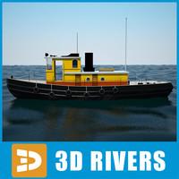 Sea Tug 03 by 3DRivers