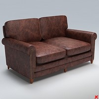 Sofa loveseat097.ZIP