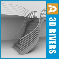 3ds staircase interiors