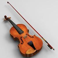 violin string 3d max