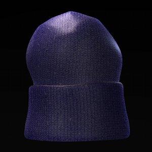 hat winter fbx