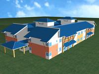 building 3d max