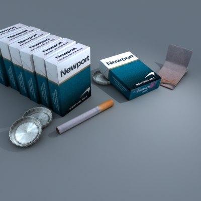 packs newport 3d model