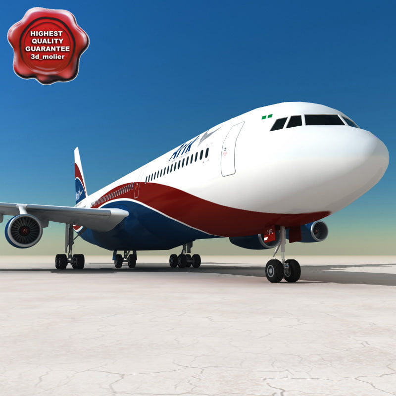 3ds max airbus a340