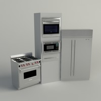 Sub-Zero / Wolf Appliance Collection - Vray Materials (Vray 1.5 SP1)