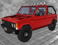 jeep aro 3d model
