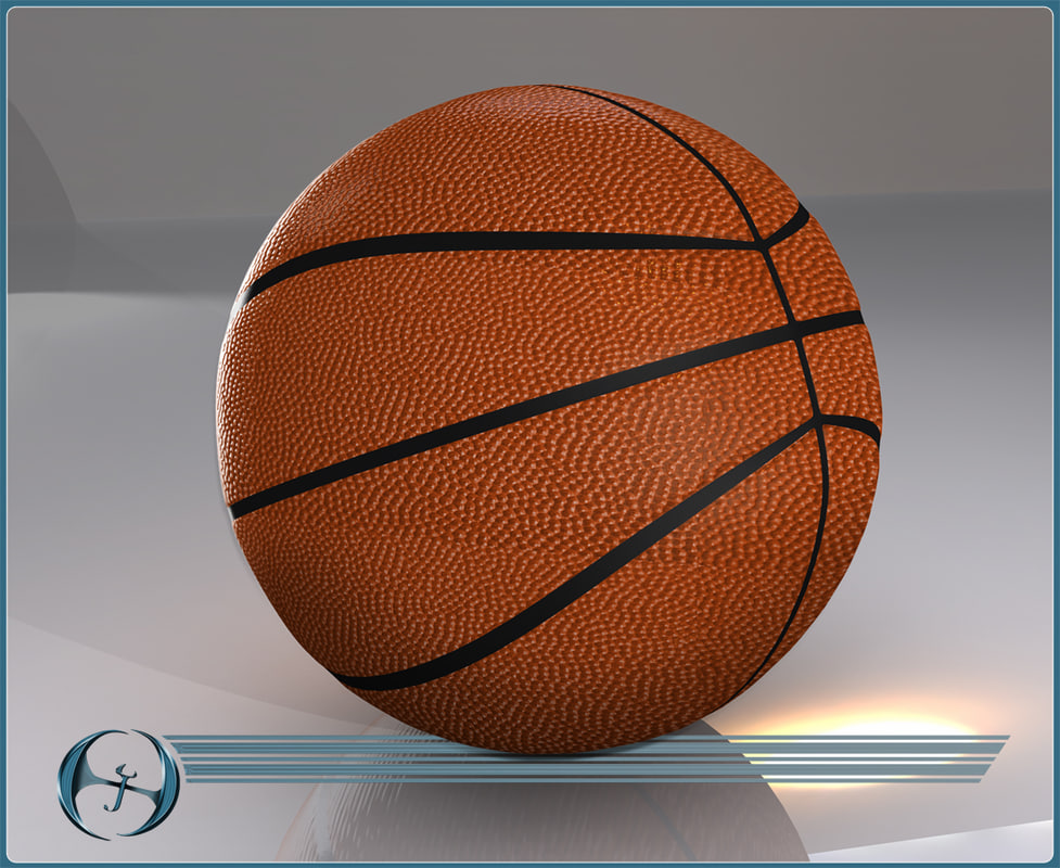 3ds max basketball seam