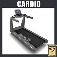 cardio machine 3d model