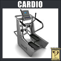 3ds max cardio machine
