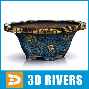 3ds chinese bowl