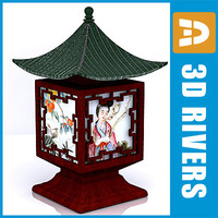 Chinese lamp by 3DRivers