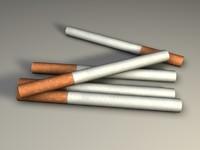 cigarette cig 3d model