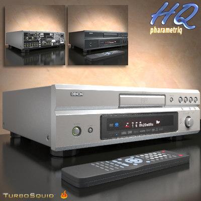dvd player digital media 3d model